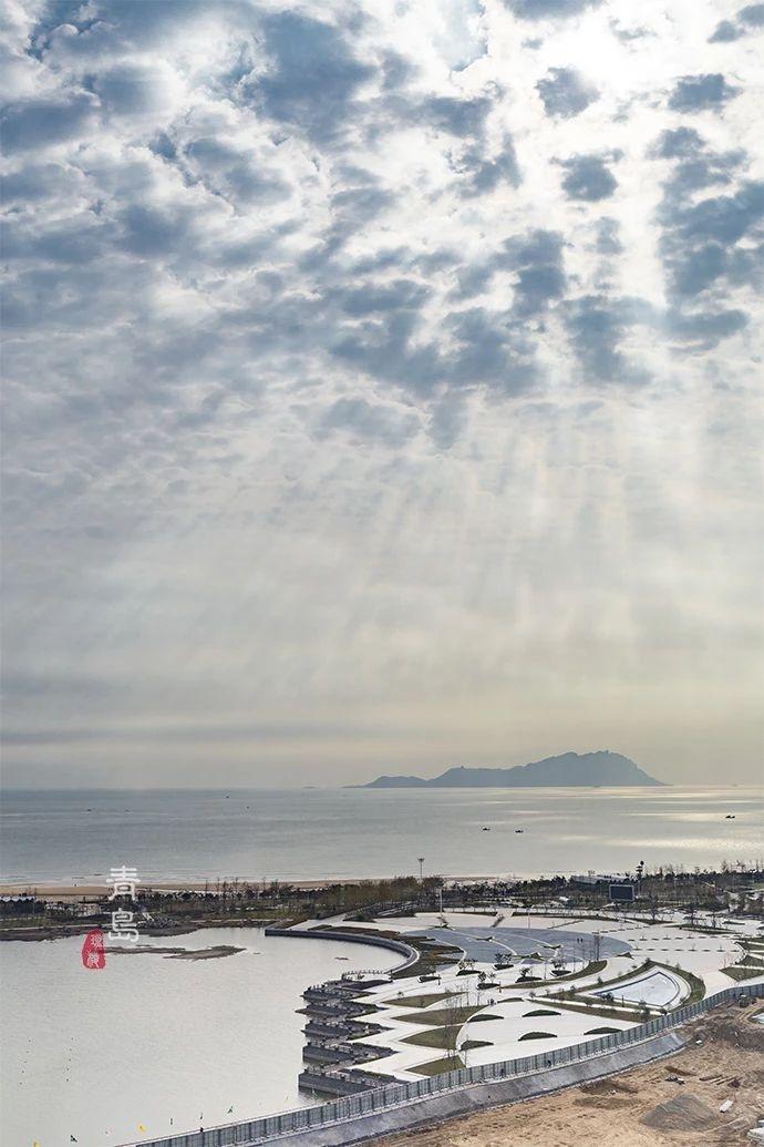 曾经荒凉的海滩 如今有了不输三亚的绝美海景