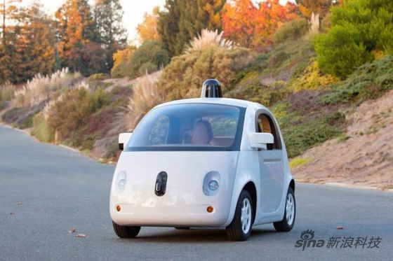 谷歌的无人驾驶汽车