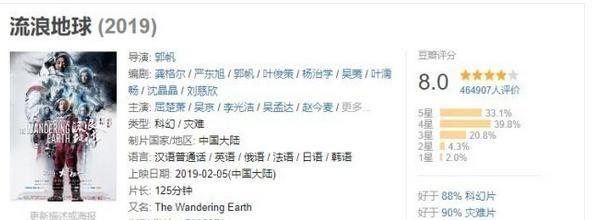 《流浪地球》国外上映好评如潮,国内为什么却出现了大量差评!