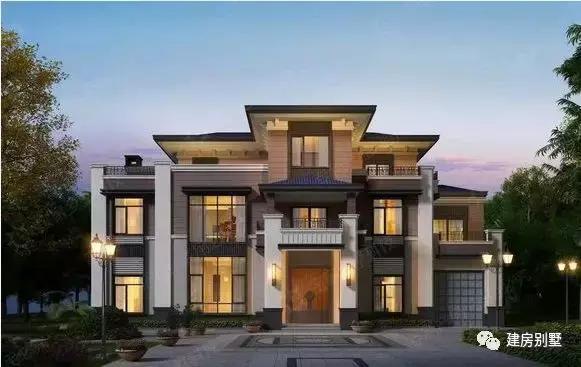 分享8款很流行的别墅外观效果图给大家,最后配上几张中式风格的室内