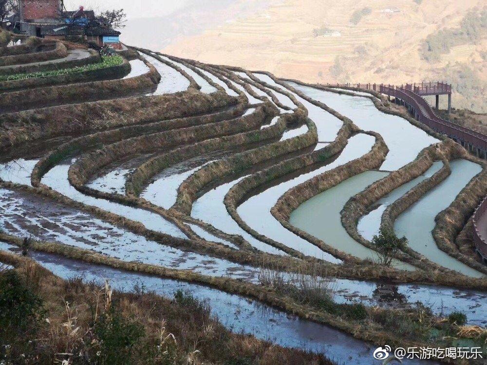 川南藏在深山中的最美梯田