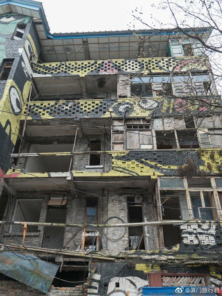 重庆充满文艺气息的涂鸦一条街