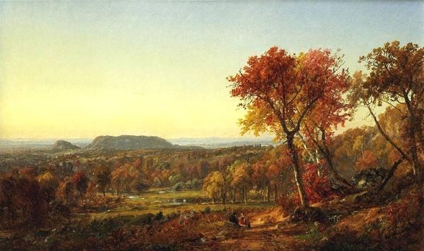 美国艺术家的风景作品宏伟壮观,构图巧妙,犹如史诗般气势!