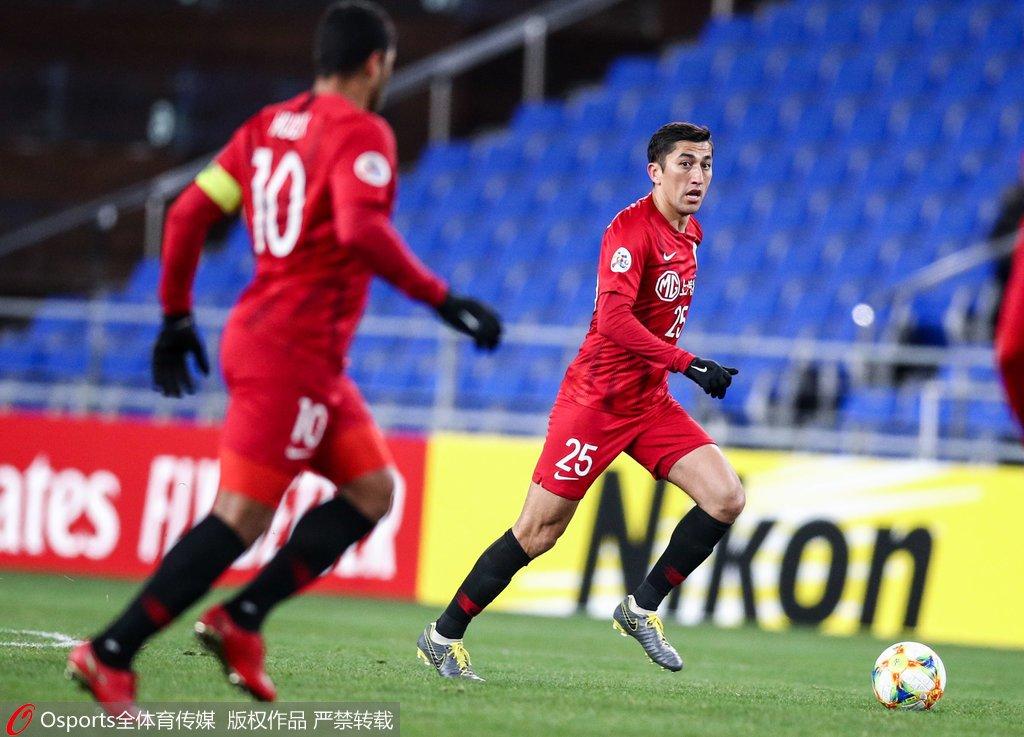 亚冠-儒尼奥尔建功 上港客场0-1蔚山遭赛季首败
