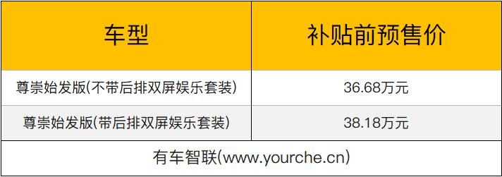 2019上海车展:天际ME7补贴前预售价36.68万-38.18万元