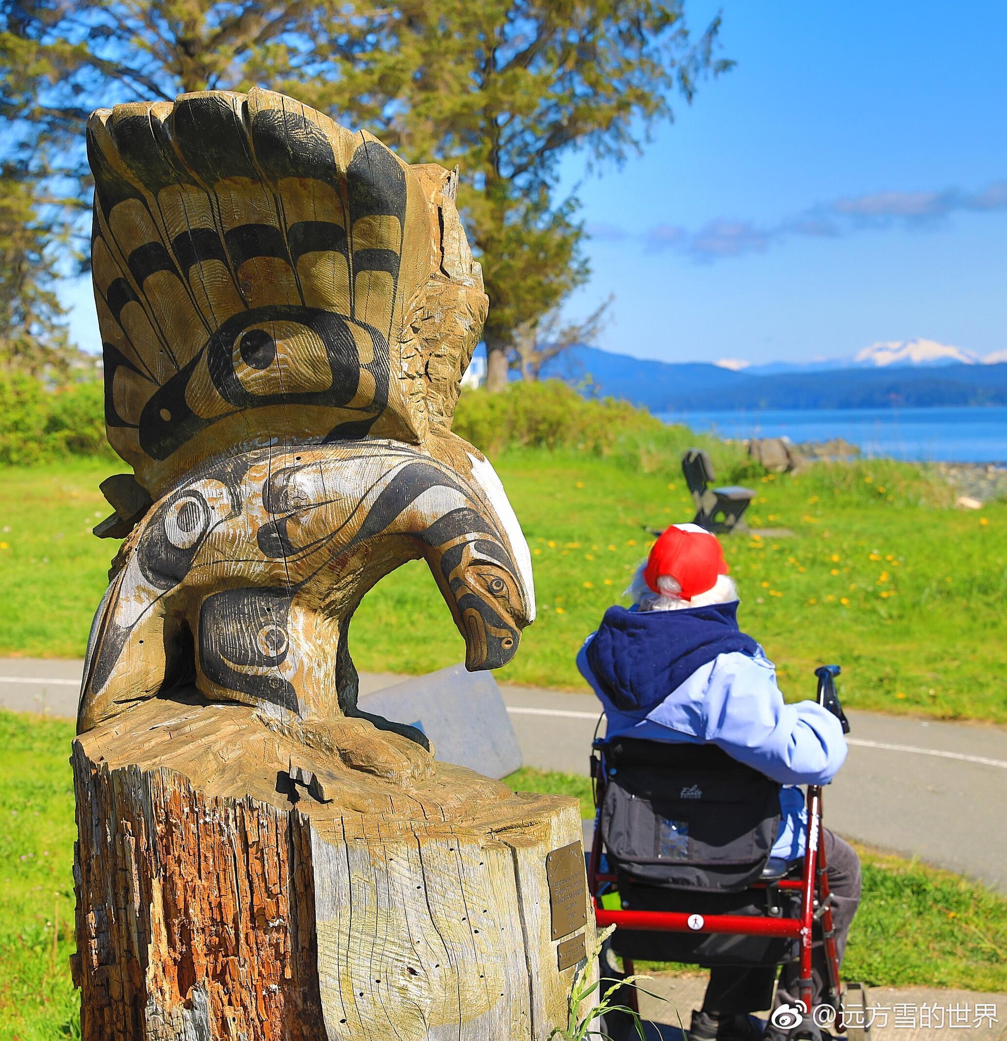 自驾温哥华岛 海滨变艺术走廊
