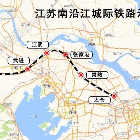 沪宁第二条城际铁路开建 上海往返江苏更便捷