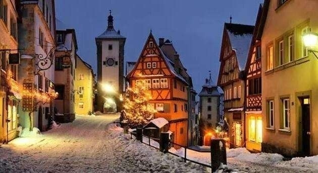 德国罗腾堡,这就是真实的童话世界