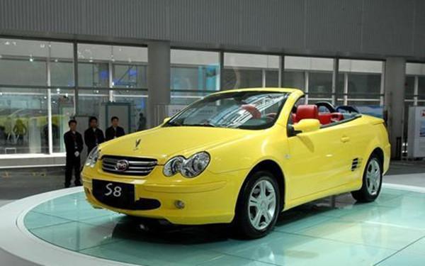 还记得当年的中国龙吗?这些国产跑车,你能认出几个?
