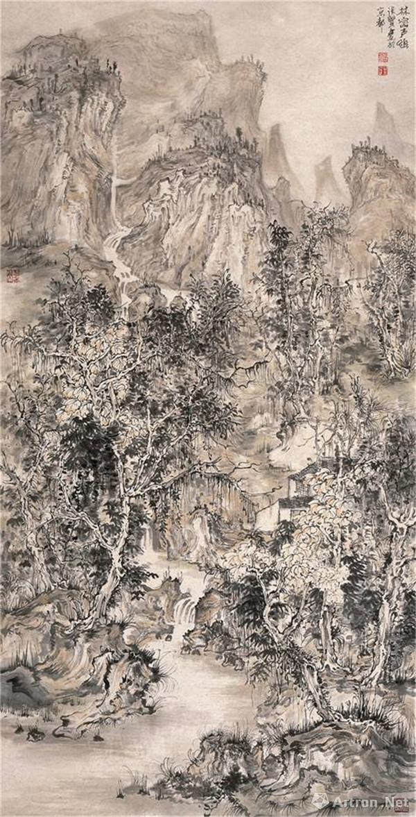 一带一路 巅峰艺术:著名画家张贤
