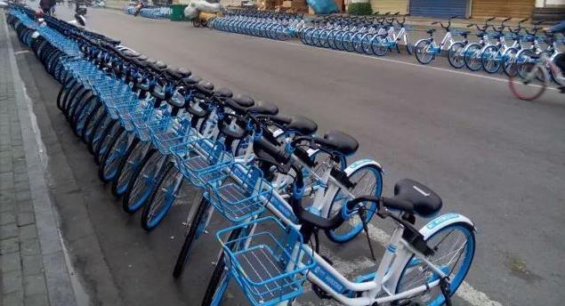 共享单车成城市文明程度照妖镜?