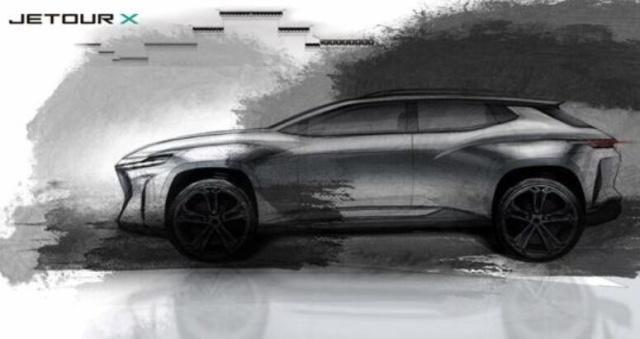 捷途X量产概念车内饰首度曝光,竟然与奇瑞瑞虎轿跑概念车撞衫