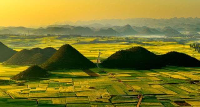 旅游云南篇:欣赏一组罗平坝子图片!图片