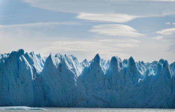 美炸了!阿根廷蓝色冰山!看起来好清凉!