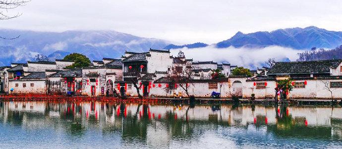 水墨宏村 | 白墙黛瓦的桃花源里人家。