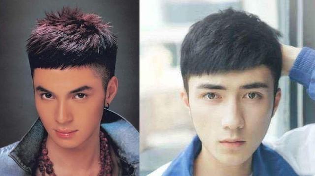 """男生发际线太高还显老,春节剪这4款发型""""帅到爆"""",还你颜值图片"""