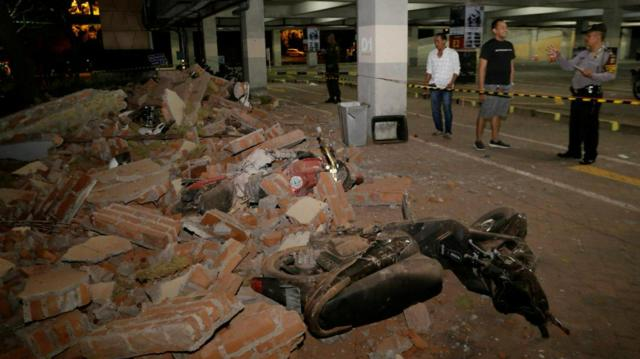 7.0-magnitude quake killed 82 on Indonesia's Lombok Island