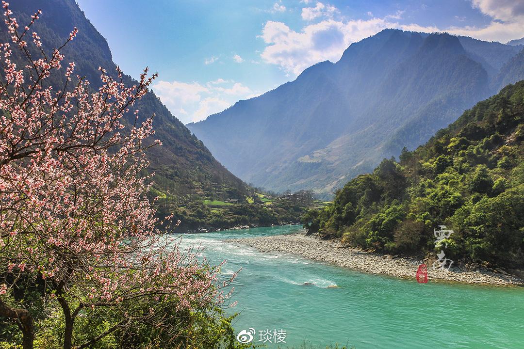 """隐藏在怒江大峡谷最深处的一""""桶""""明珠"""