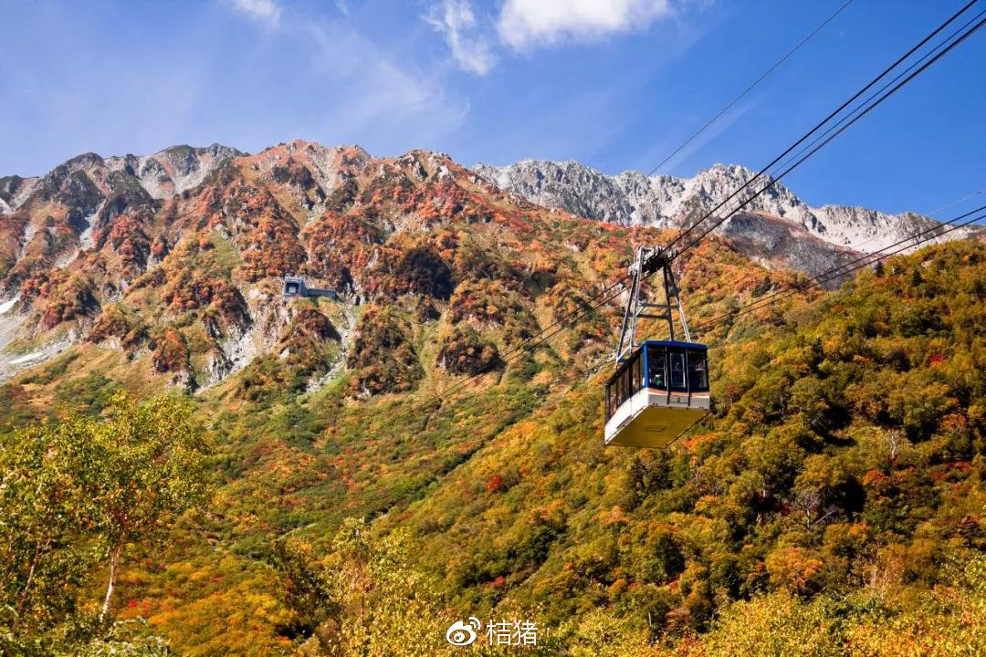 去令人迷醉的日本阿尔卑斯山