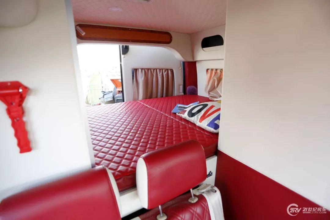 售价21.8-35万元 电动升降床 商旅两用KTV系统 华旅2款B型房车