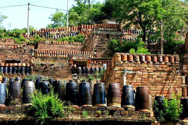 陈炉镇的建筑风格——窑上叠窑