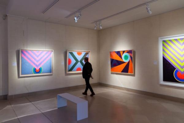 巴黎吉美博物馆展萧勤作品,在亚洲文物旁品味现代艺术语言
