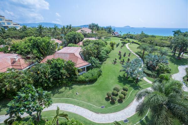亚龙湾最好风水的沙滩,拥有距别墅最近的独栋别墅,仅120米施工图一般酒店收费标准方案图片