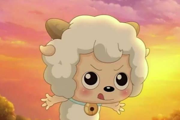 喜羊羊小时候:喜羊羊最帅气,灰太狼呆萌,懒羊羊的发型
