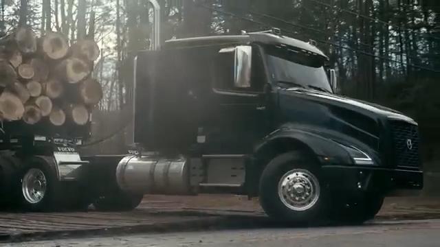制造业强国 科技沃尔沃新版卡车VNX,转为重型运输需求而打造,605马力...