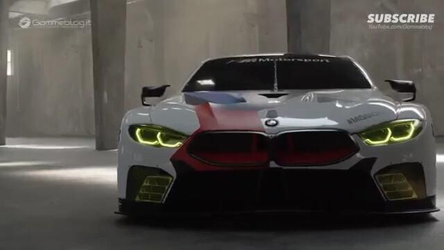 2018年宝马M8 GTE-如何制造赛车:内饰引擎、外观的设计 科技 制...