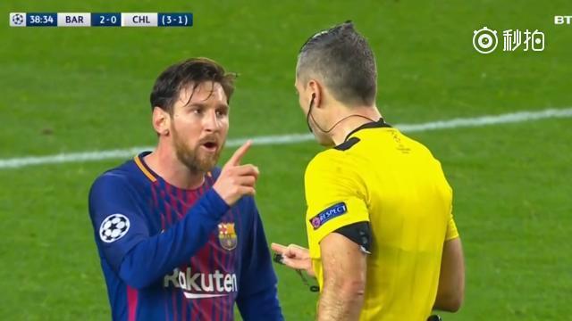 维拉蒂:我吼裁判有错,为啥梅西指裁判没事儿