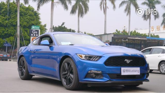 我们在手机上点了几下,开走了超帅的福特 Mustang   3 月...