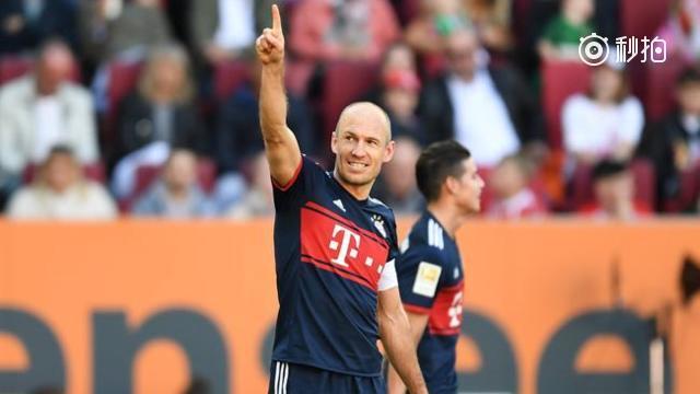 拜仁4-1胜提前5轮夺6连冠