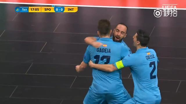 视频-五人制足球欧冠决赛 Inter FS 5-2葡萄牙体育夺冠