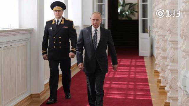 Putin swears to serve Russian people at his inauguration