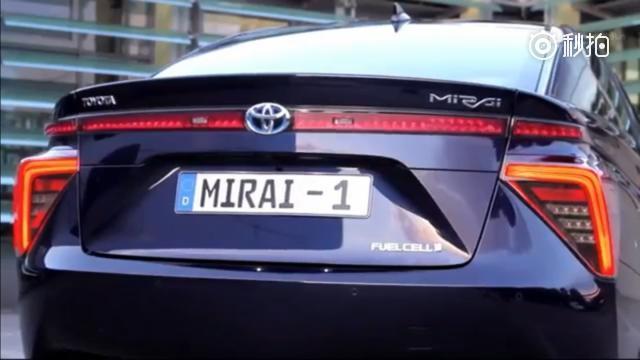 丰田Mirai,这黑科技才是真正的新能源!氢燃料电池长春车天下汽车街拍 ...