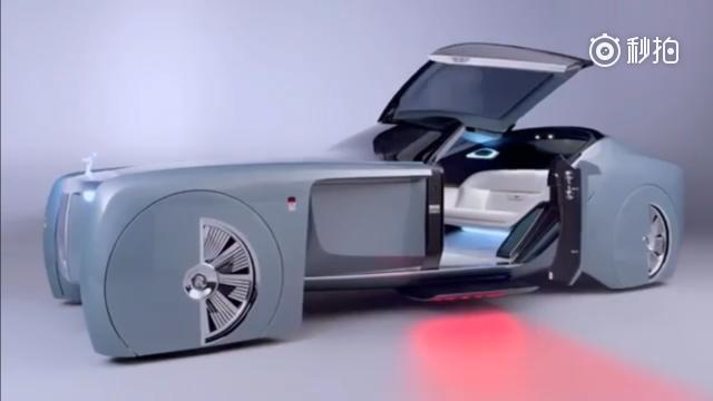未来的豪华,劳斯莱斯Vision Next 100概念车!长春车天下汽车...