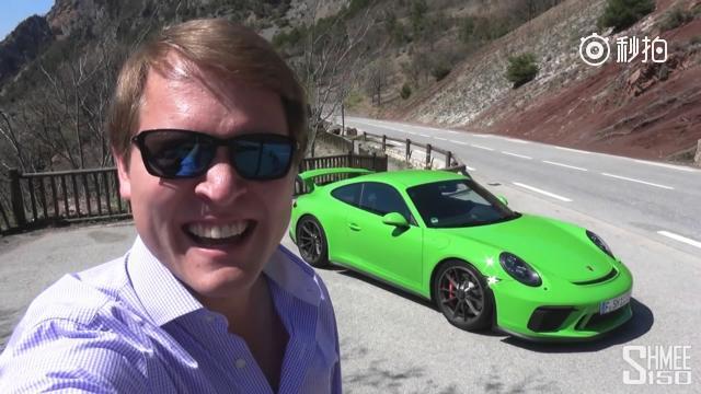 施米给保时捷911GT3找到最合适它的地方——法国的红岩路,在这里它能把...