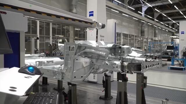 制造业强国 科技看完2019福特福克斯汽车生产组装过程,一天都会很舒服!...