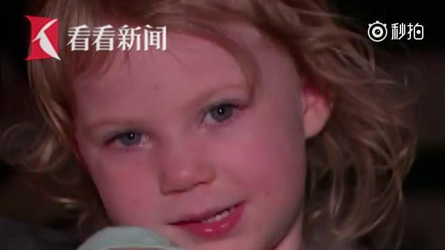 【妈妈倒地失去意识 3岁女孩及时拨急救电话救母】美国德克萨斯州3岁女孩多...
