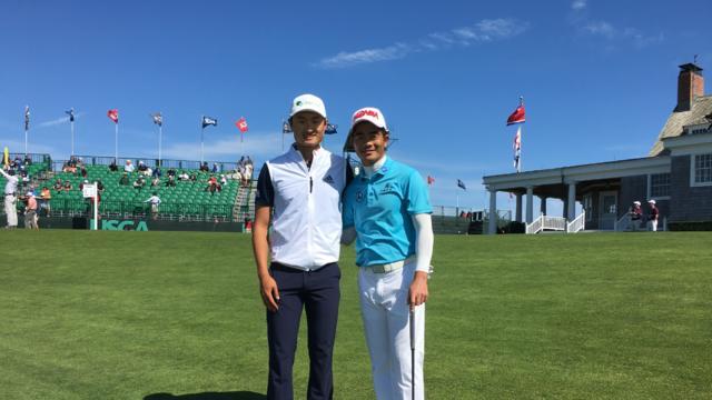 视频-左梁右李会师美国公开赛 厉害了!中国高尔夫