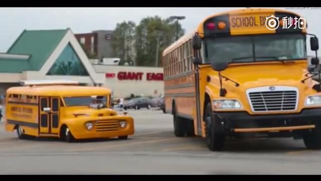 视频:废车还能改造成为校车,真是逆天了