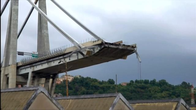 Italy bridge collapse leaves 26 dead
