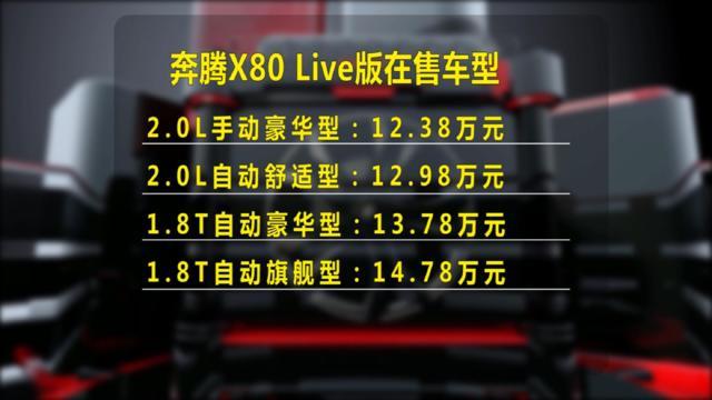 奔腾X80 2018款Live自动旗舰版值得购买吗?(使用  录制)