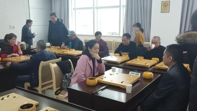视频-贺岁杯奇点围棋赛开战 袁卫红队VS汪见虹队