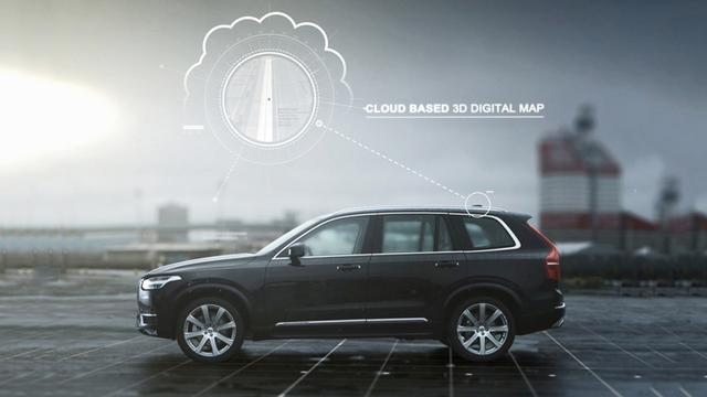 HERE合作沃尔沃汽车 为沃尔沃汽车提供离线云服务地图数据