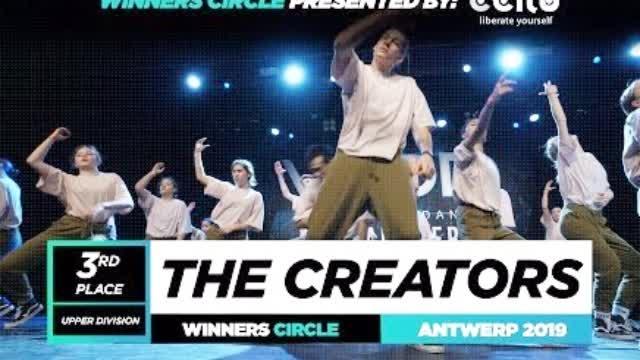 世界知名街舞巡回赛World Of Dance 2019比利时安特卫普赛区成人组齐舞季军:THE CREATORS