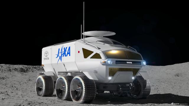 丰田自动驾驶载人月球概念车 可行驶1万公里以上