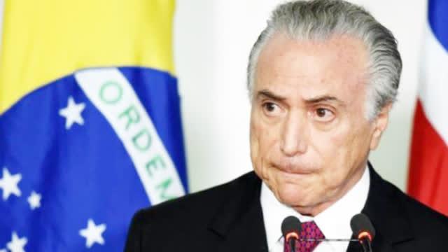 任内涉嫌贪腐!巴西前总统特梅尔家中被捕 或成该国第2位入狱总统