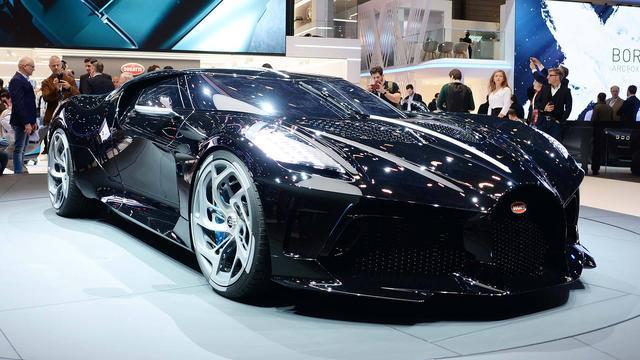 """布加迪推出""""黑车"""",动力与布加迪凯龙一样,出1亿美金都买不到"""